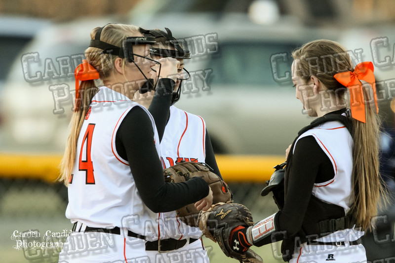 DAVIE VARSITY Ladies Softball vs W Rowan 3-30-15-025