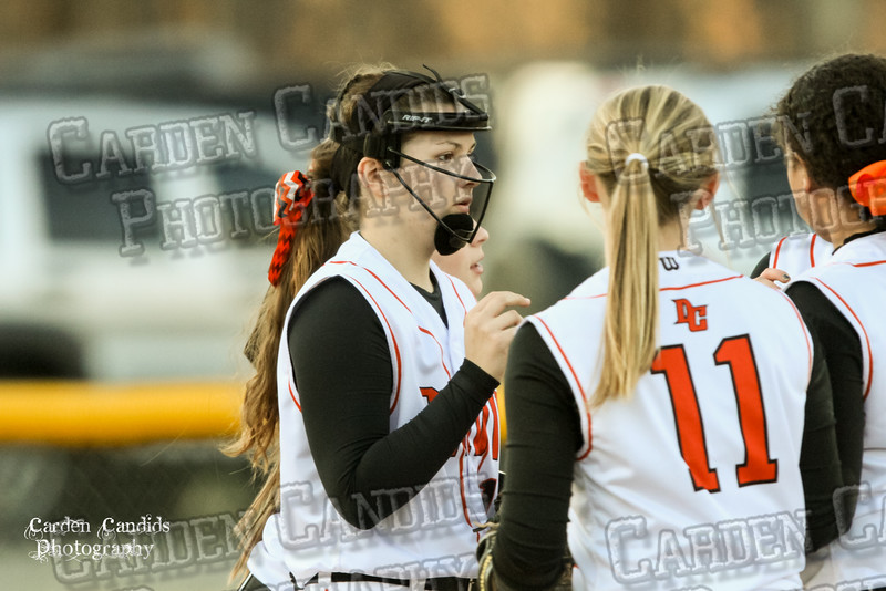 DAVIE VARSITY Ladies Softball vs W Rowan 3-30-15-034