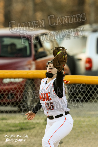 DAVIE VARSITY Ladies Softball vs W Rowan 3-30-15-028