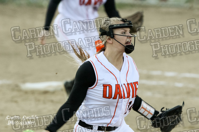 DAVIE VARSITY Ladies Softball vs W Rowan 3-30-15-045