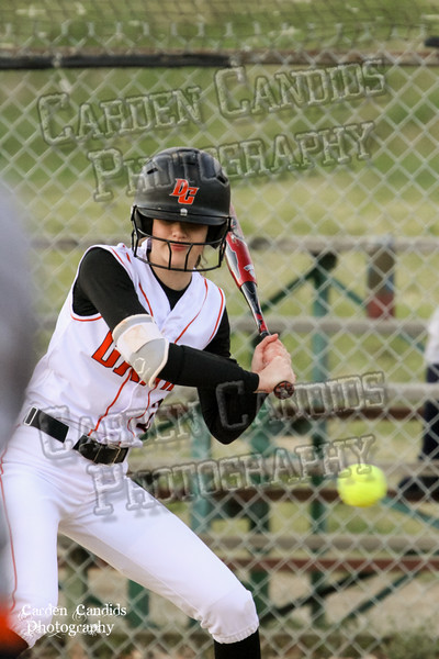 DAVIE VARSITY Ladies Softball vs W Rowan 3-30-15-052