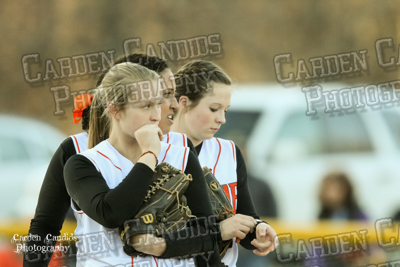 DAVIE VARSITY Ladies Softball vs W Rowan 3-30-15-020