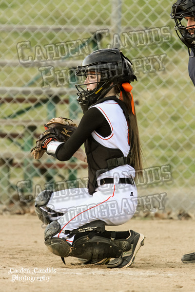 DAVIE VARSITY Ladies Softball vs W Rowan 3-30-15-031