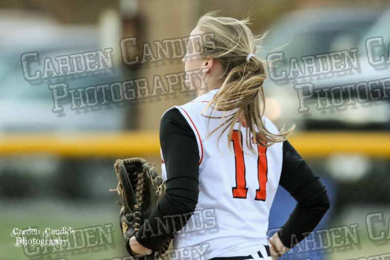 DAVIE VARSITY Ladies Softball vs W Rowan 3-30-15-011