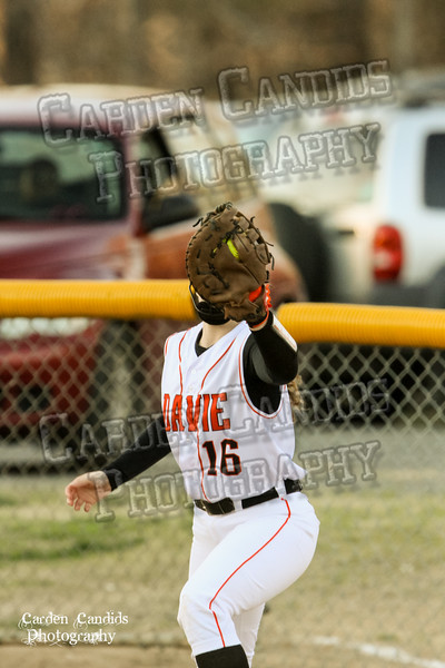 DAVIE VARSITY Ladies Softball vs W Rowan 3-30-15-029