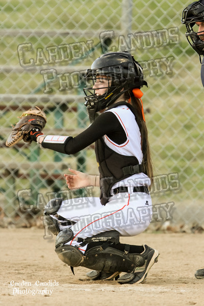 DAVIE VARSITY Ladies Softball vs W Rowan 3-30-15-030