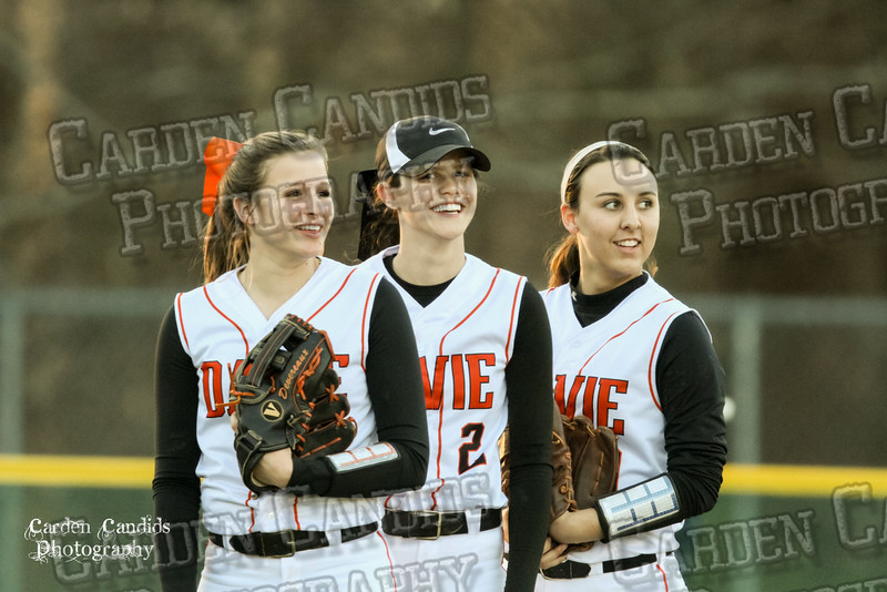 DAVIE VARSITY Ladies Softball vs W Rowan 3-30-15-014