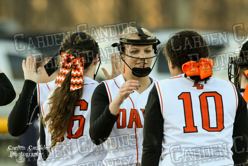DAVIE VARSITY Ladies Softball vs W Rowan 3-30-15-039