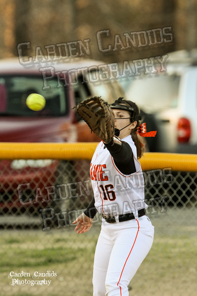DAVIE VARSITY Ladies Softball vs W Rowan 3-30-15-027