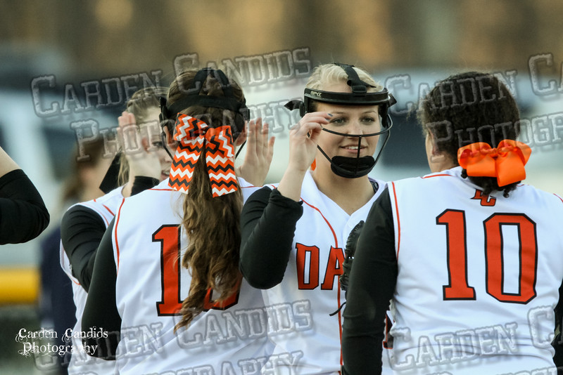 DAVIE VARSITY Ladies Softball vs W Rowan 3-30-15-040