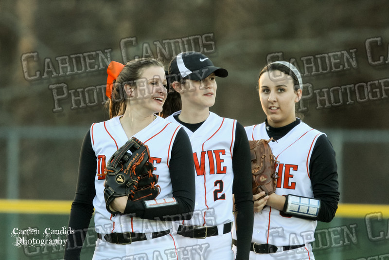 DAVIE VARSITY Ladies Softball vs W Rowan 3-30-15-013