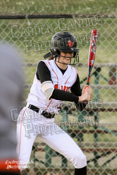 DAVIE VARSITY Ladies Softball vs W Rowan 3-30-15-053