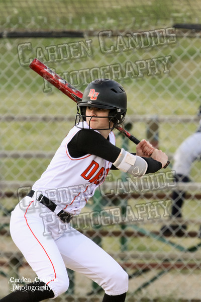 DAVIE VARSITY Ladies Softball vs W Rowan 3-30-15-049