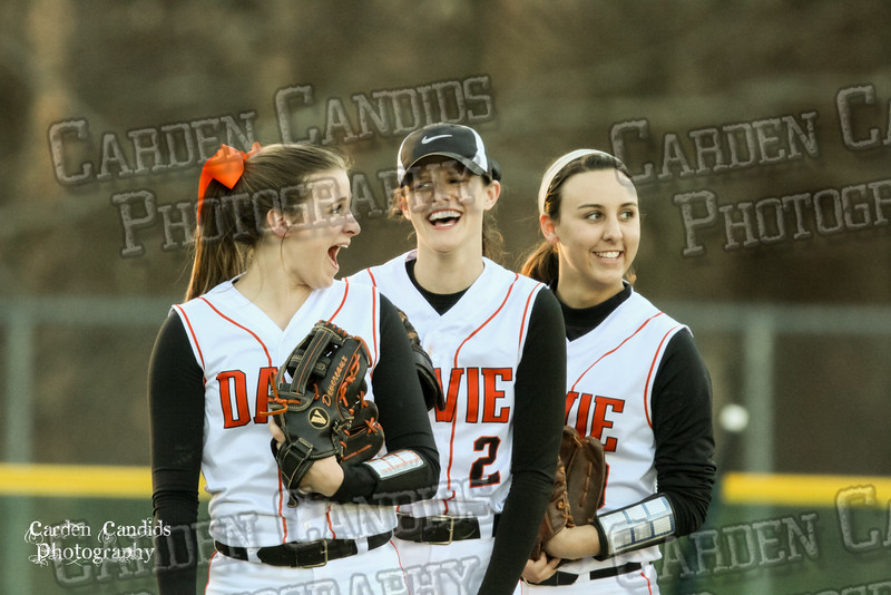DAVIE VARSITY Ladies Softball vs W Rowan 3-30-15-015