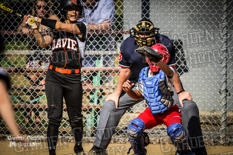 DAVIE VARSITY Ladies Softball vs Parkland 5-5-15-61