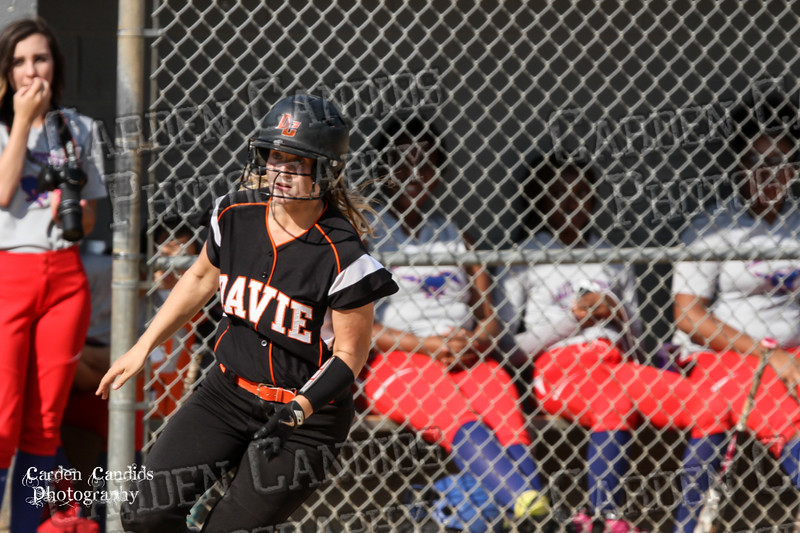 DAVIE VARSITY Ladies Softball vs Parkland 5-5-15-73