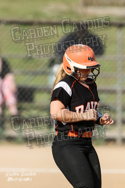 DAVIE VARSITY Ladies Softball vs Parkland 5-5-15-86