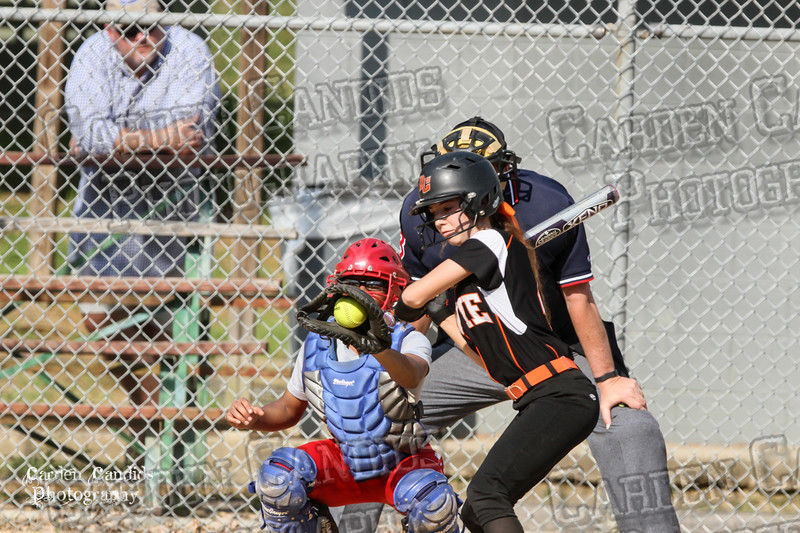 DAVIE VARSITY Ladies Softball vs Parkland 5-5-15-92