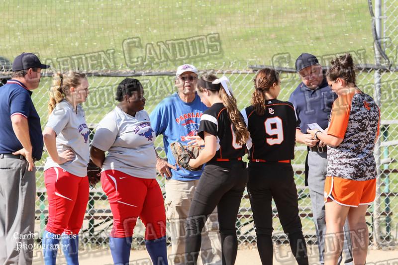 DAVIE VARSITY Ladies Softball vs Parkland 5-5-15-2