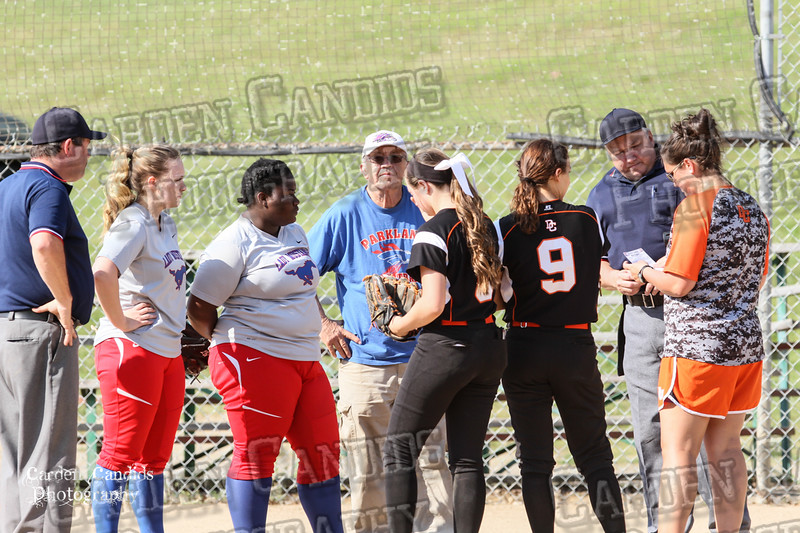 DAVIE VARSITY Ladies Softball vs Parkland 5-5-15-1