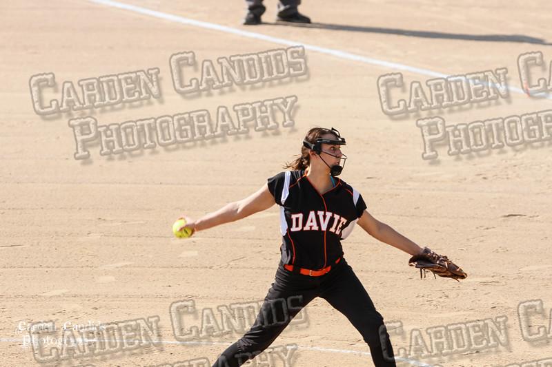 DAVIE VARSITY Ladies Softball vs Parkland 5-5-15-41