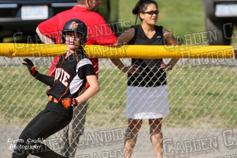 DAVIE VARSITY Ladies Softball vs Parkland 5-5-15-55
