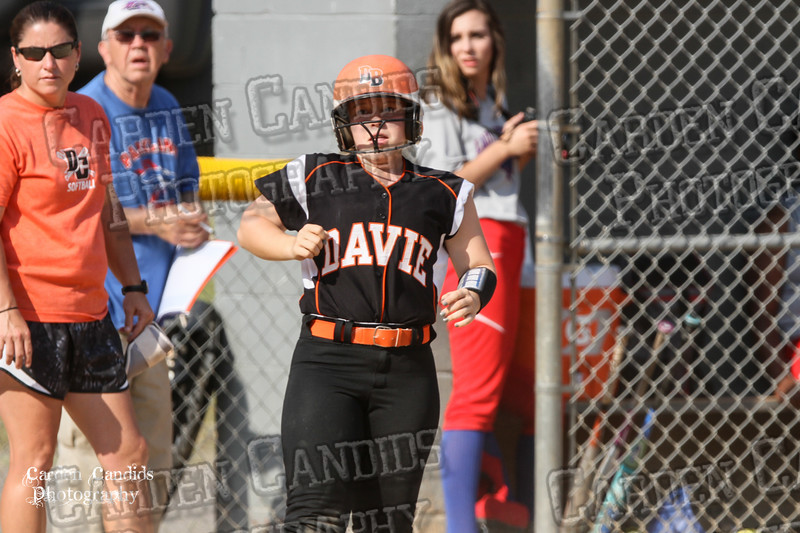 DAVIE VARSITY Ladies Softball vs Parkland 5-5-15-82