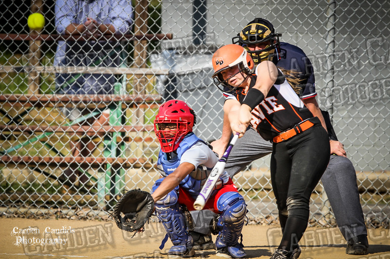DAVIE VARSITY Ladies Softball vs Parkland 5-5-15-79
