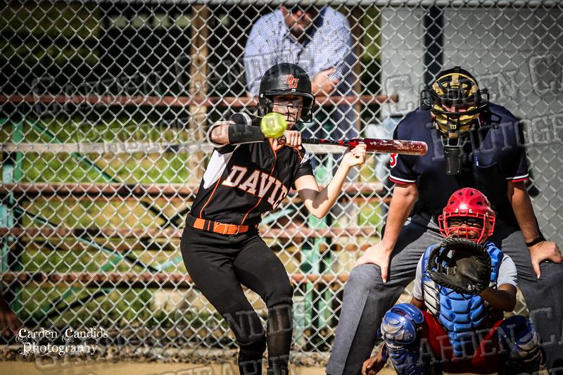 DAVIE VARSITY Ladies Softball vs Parkland 5-5-15-45