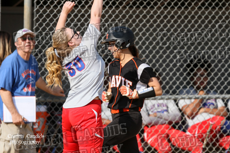 DAVIE VARSITY Ladies Softball vs Parkland 5-5-15-67