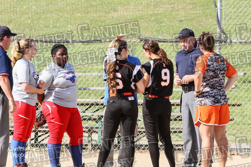 DAVIE VARSITY Ladies Softball vs Parkland 5-5-15-8