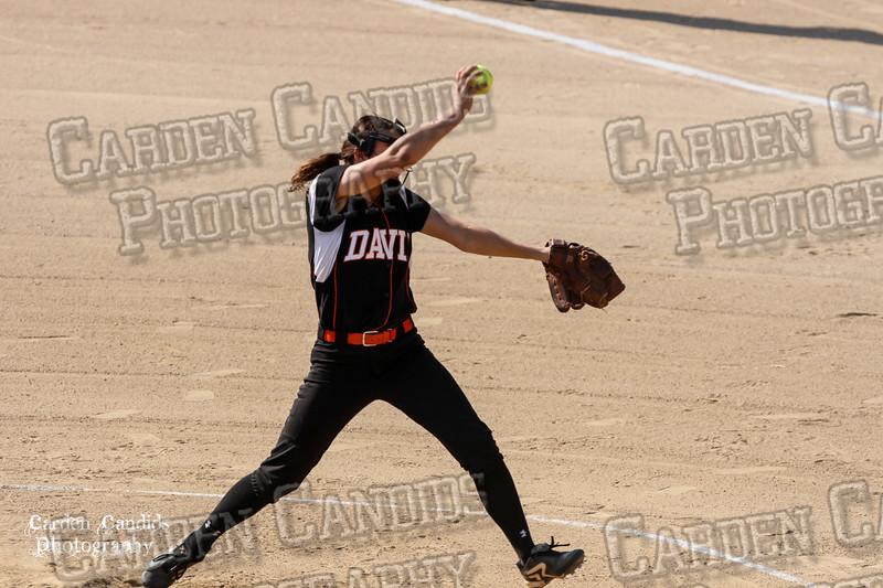 DAVIE VARSITY Ladies Softball vs Parkland 5-5-15-33