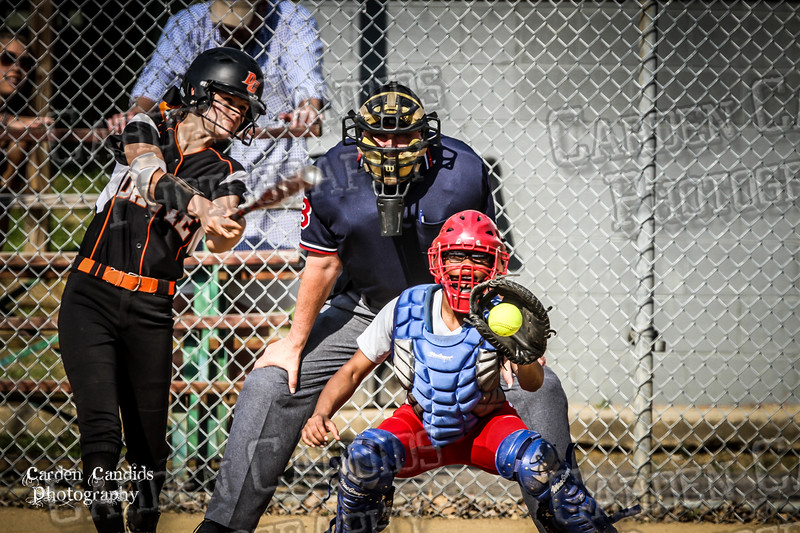 DAVIE VARSITY Ladies Softball vs Parkland 5-5-15-50