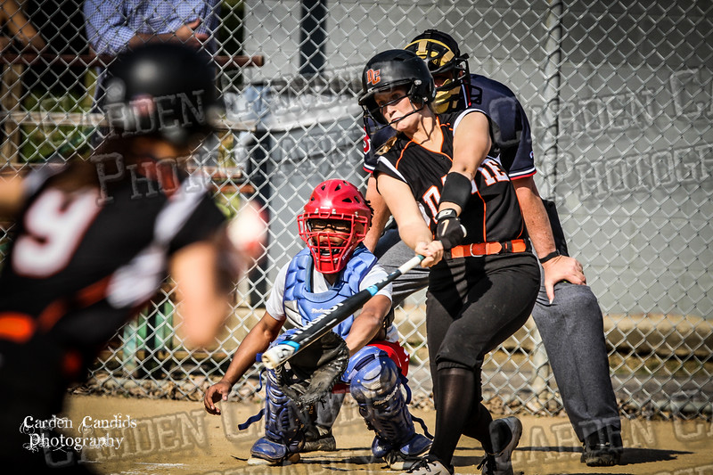 DAVIE VARSITY Ladies Softball vs Parkland 5-5-15-72