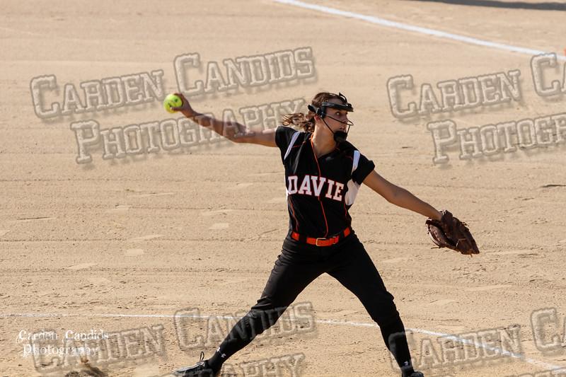 DAVIE VARSITY Ladies Softball vs Parkland 5-5-15-40