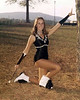 "DHS Majorettes - 1970s : Photos of Dalton High Majorettes in Dalton, Georgia from the mid to late 70's. Some were published in the yearbooks, most have never been distributed before now. Leave a comment by clicking the ""Add Comment"" button at the bottom...  Please add any info you think may be of interest, especially names or event descriptions. Visit this page to see all the DHS categories. • E-mail me if you want to be notified of additional photos added to the DHS galleries, or for any other questions or comments. Disclaimer: Most of these photos were scanned directly from the original negatives, but a few may have imperfections, slight blur, exposure problems, high grain, etc. If you buy photos, you are buying them ""as is"" with no guarantee of quality. View your choices in larger sizes to inspect for defects. About 90% of the photos should be excellent quality. Visit me on FaceBook for more photos! -Steve"