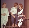 "Pajama Game - Play : READ THIS: I shot these photos at a rehearsal for ""The Pajama Game"" at Dalton High School in Dalton, GA. **These are mostly backstage shots.** The play ran May 12, 13 and 14, 1977 in the DHS Theatre. ***NOTE*** These photos were scanned direct from the negatives. Due to several requests from participants, they are available here at my cost, due to the obvious degradation of the negatives over a 30+ year period. They are available as-is and refunds will not be available as a result of negative deterioration. You may also download the original scans for 1 cent each if you wish through the ""Buy"" link below. (For technical reasons, I can't charge zero cents for a download.) -Steve"