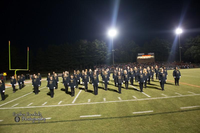 DHS Varsity vs North Davidson Game played on 10-14-16- DHS Homecoming