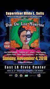 11-4-2018 DIA DE LOS MUERTOS - ELA CIVIC CENTER