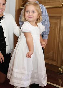 Alexandra's Christening (October 14, 2012)