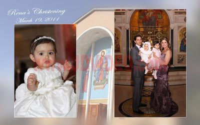 Rena's Christening