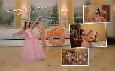 Stephanie's sweet 16 album