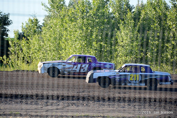 June 30, 2016 - McLean County Speedway, Underwood ND