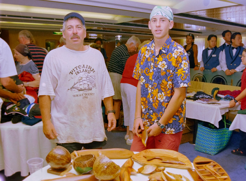 Denniss Christian, Postmaster of Pitcairns Island