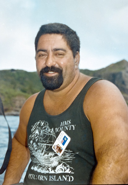 Randy Christian at Pitcairns Island