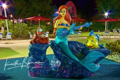 Under The Sea...Poolside, The Allstar Music Resort