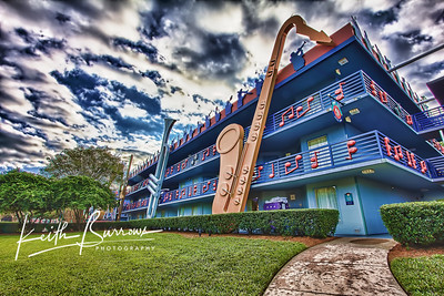 The Jazz Inn, Disney's All Star Music Resort