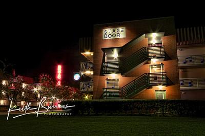 Broadway Stage Door at Night, All Star Music Resort