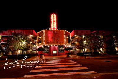 Beauty & The Beast, night shot, All Star Music Resort