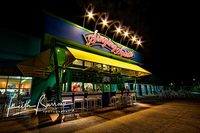 Night Time at the Singing Spirits, All Star Music Resort